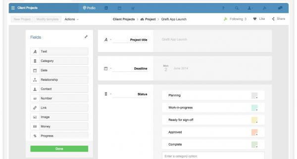 Podio - customize Apps